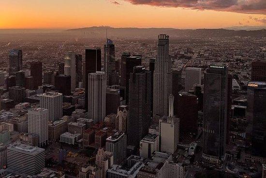 Visite en hélicoptère du centre-ville...