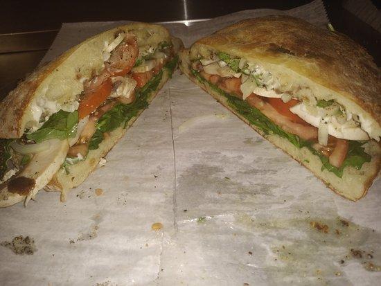 Fresh Homemade Pizza Bread Sandwich Picture Of Paty S Pizza Melbourne Tripadvisor