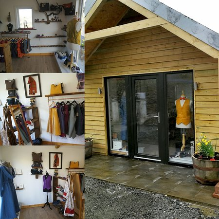 The Weaving Shed, Crossbost Harris Tweed and Western Isles Designs