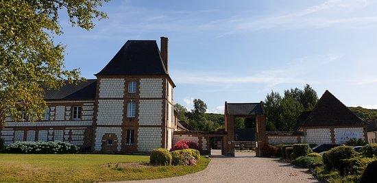 Beauchamps, ฝรั่งเศส: Entree domaine