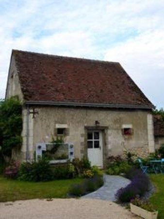 Saint-Quentin-sur-Indrois, فرنسا: Une des maisons du gîte.