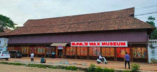 Thiruvananthapuram District, Indie: Sunil's Wax Museum
