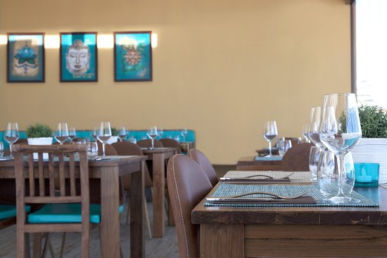 Interior Bama Beach Club Restaurant