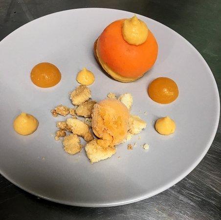 #miam #instafood #dessert #abricot #restaurant #jardindes4m #saintrégisducoin #parcdupilat #pilatmonparc #saintetienne