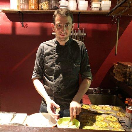 Chef Julien Lecomte
