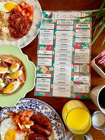 Fob Restaurant : Do not forget brunch Saturday and Sunday.