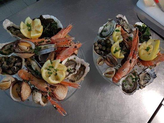 Pizzeria Restaurant Colosseo: Plateux Frutti di mare