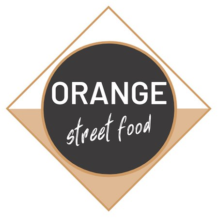 ‪‪Reykjanesbaer‬, أيسلندا: Orange streetfood logo‬