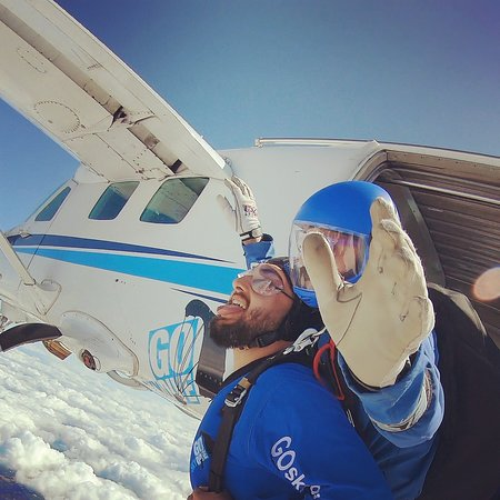 15000ft Skydive with EJ and Mac