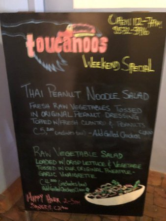 The owners were so nice! I had a vegan Thai Peanut Noodle and it was delicious!