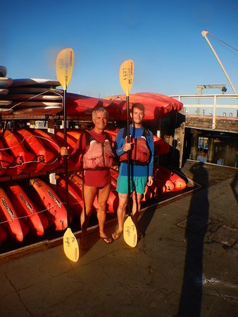 Sunset & Moonrise Kayaking: All'inizio del tour