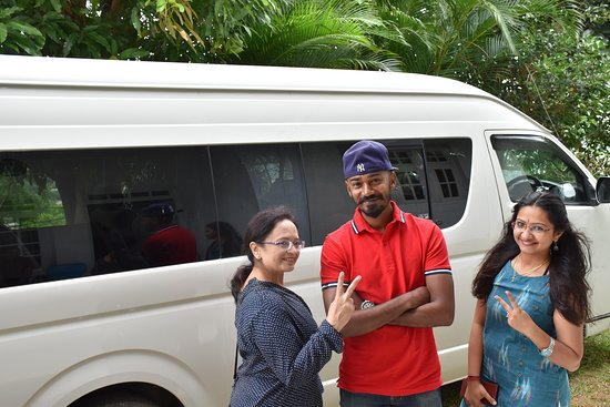 Day Colombo City Tour: Our Tour Executive Mr.Supun with Happy Family Smiles..