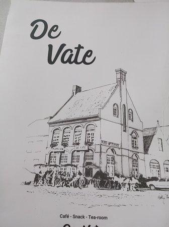 Cafe de Vate: De kaart