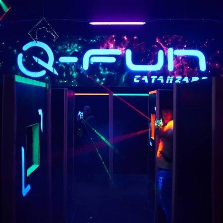 Q Fun Laser Game