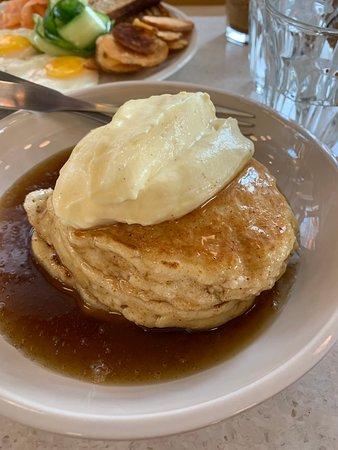 The ricotta pancakes
