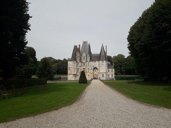 Mortree, Frankrike: Entrée  du château