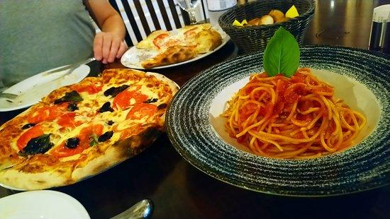 Kanallaki, Grécia: Pizza margarita