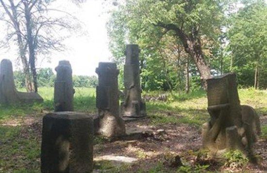 Medvyn, אוקראינה: Медвин, єврейське кладовище