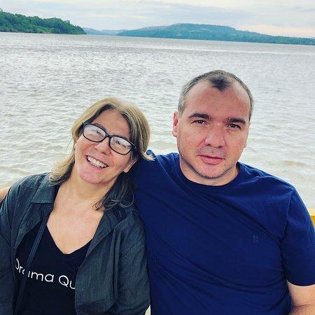 Porto Maua: Passeio pelo Rio Uruguai. Rumo à Argentina.