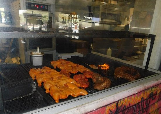 Chuy's Mesquite Broiler - Catalina: Glimpse inside the Chuy's kitchen