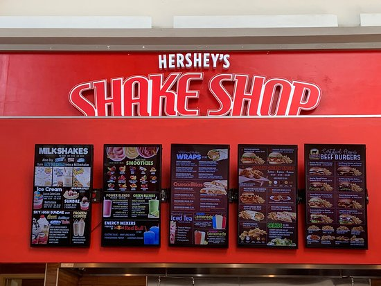 Hershey S Shake Shop Express Providence Restaurant