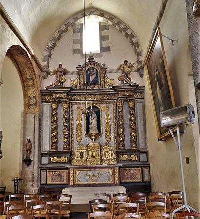 Eglise Sainte-Valérie, dite église du Moutier