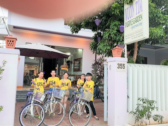 Purple Garden Homestay: bicycle Tours