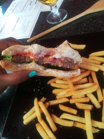 Ryde, UK: Kids burger