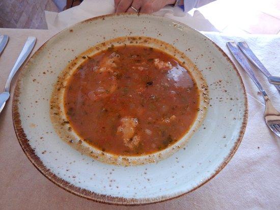 La Capanna: お魚のスープ、Good!