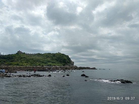 Quan Lan island beach view