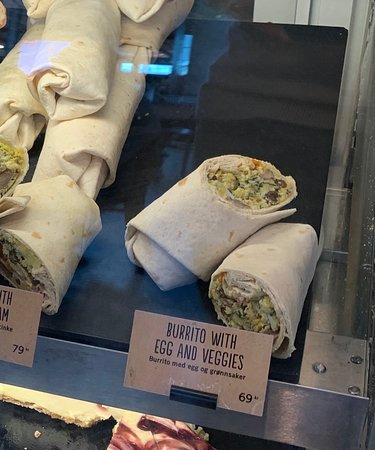 The best wrap ever. The occasion I took this photo was one of the scantly filled. Other times they've been bursting.