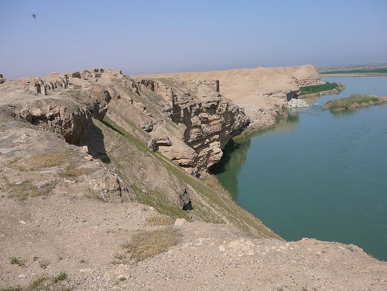 Deir Ezzor Governorate, Syria: Euphrates River 2