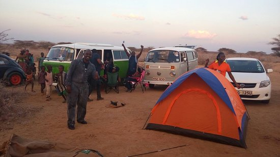 Marsabit, Kenya : A trip to Northern Kenya with the Volkswagen Anonymous Club.