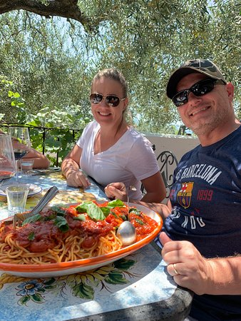 Discovery Tours Limousine Service Day Tours: Wonderful tour, lunch and wine tasting at Cantina del Vesuvio,  Located on the base of Mount Vesuvius.  Then off to our tour of Pompei. Thank you for the great recommendation, it was one of our favorites!  