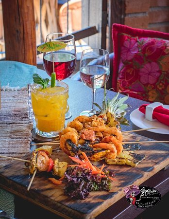 The favorite of the week, our famous pineapple shrimp...you have to try it!
