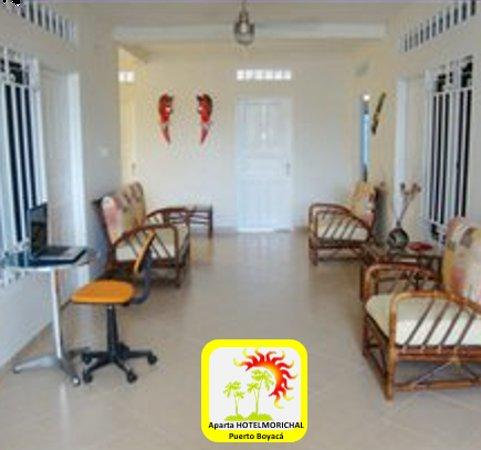 Puerto Boyaca, Kolumbien: aparta Hotel cómodo, ambiente familiar