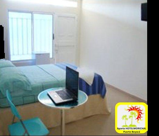 Puerto Boyaca, Kolumbien: aparta hotel MORICHAL  en puerto Boyacá, habitaciones confortables.