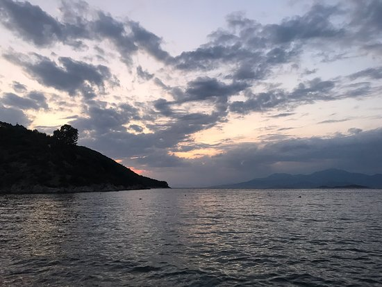 Schinos, Hellas: Παραλία Σχίνου λιμανάκι