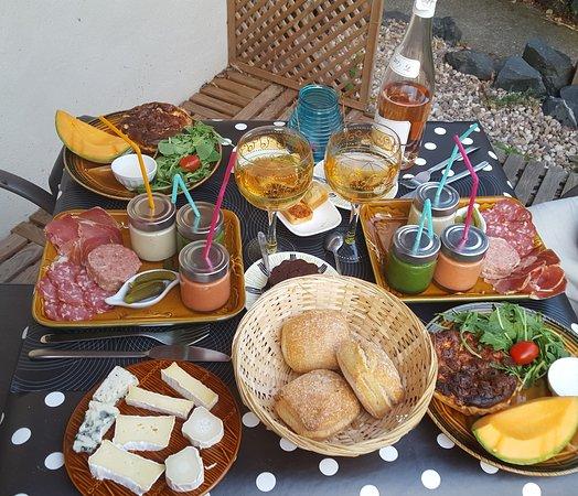Flocourt, ฝรั่งเศส: Panier repas chambre d'hôtes Le Petit Flo