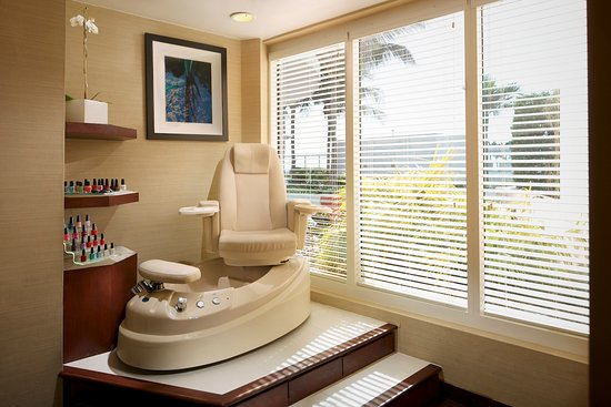 Spa Q: Pamper yourself with a spa manicure and pedicure.