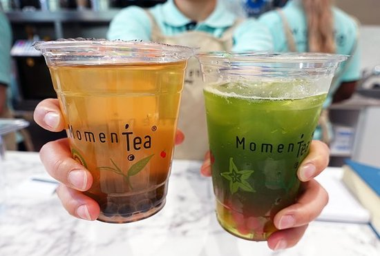 Bubble tea mangue ou Bubble tea kiwi ?