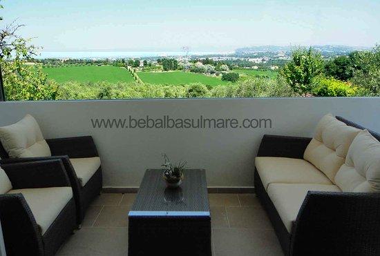 Misano Monte, อิตาลี: Balcone con vista mare