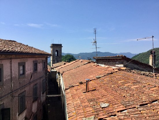 Tereglio, Italie : View from the balcony