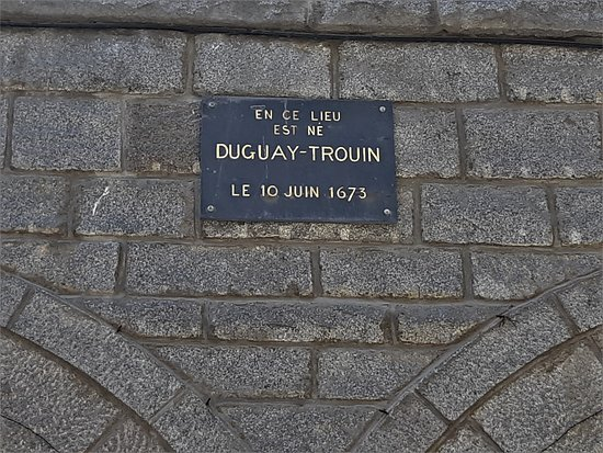 Birthplace of Rene Duguay-Trouin