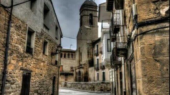 Carcastillo, Hiszpania: Me da pena ver estas caserones mal conservados.