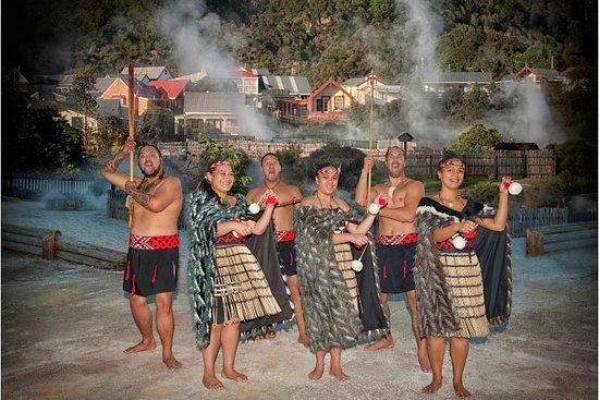 Whakarewarewa, The Living Maori Village