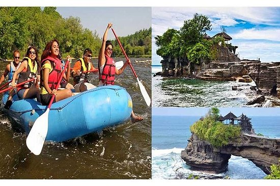 Private Tour: Ayung River rafting with...