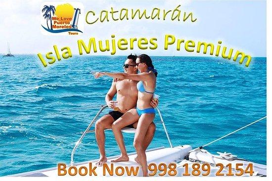 Nyt Tour Catamaran Isla Mujeres Premium