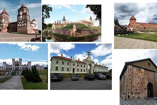 Visitez 9 châteaux belarussiens en 2...
