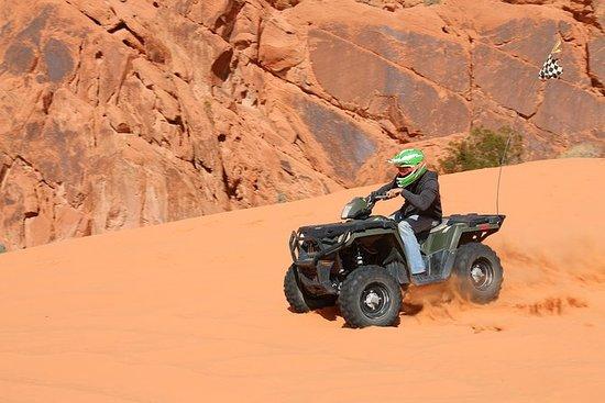 ATV-Quad-Tour im Tal des Feuers...